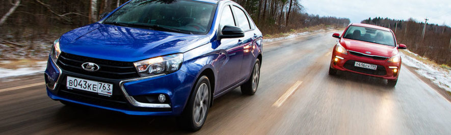 Извечный спор: Lada Vesta или Hyundai Solaris? – Auto People