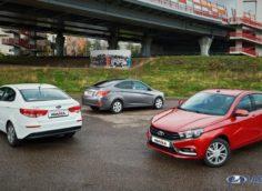 Сравнение Лада Веста с конкурентами Kia Rio и Hyundai Solaris » Лада.Онлайн