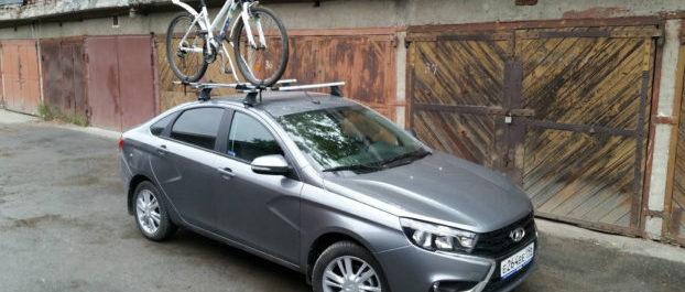 Лайфхак: Багажник на крышу Веста