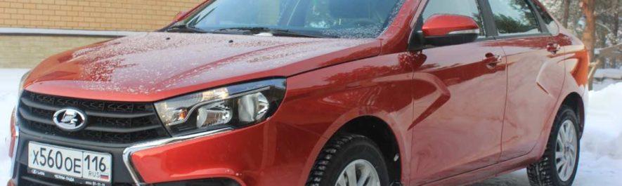 Типоразмерность и давление шин автомобиля Лада Веста, какие шины установлены