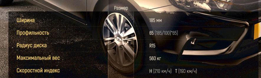 Какие шины и диски подойдут для Лады Веста?