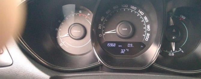Как обнулить средний расход топлива на Лада Веста